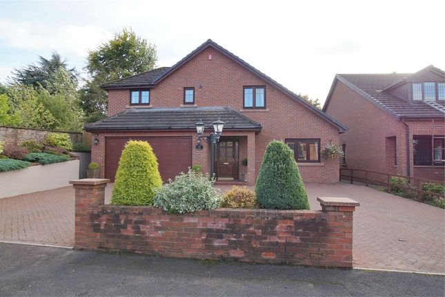 Thumbnail Detached house for sale in Ghyll Road, Scotby, Carlisle, Cumbria