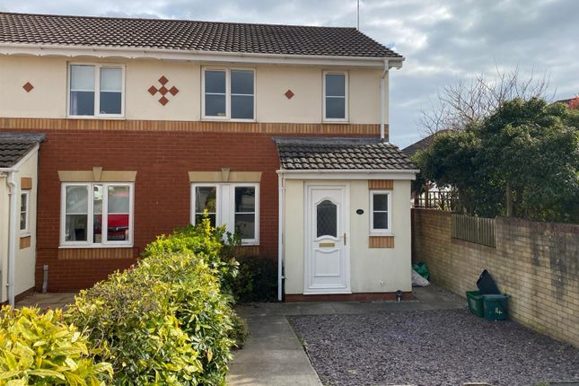 3 bed semi-detached house to rent in Clos Onnen, Margam, Port Talbot SA13