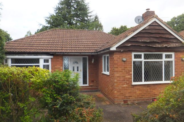 Thumbnail Detached bungalow to rent in Park View Road, Four Oaks, Sutton Coldfield