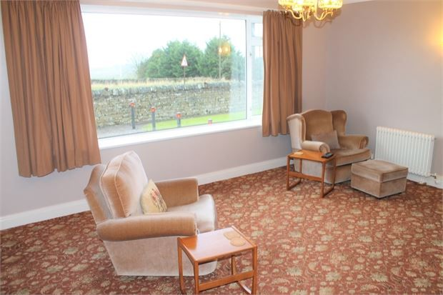 Lounge of High Stoop, Tow Law, County Durham. DL13