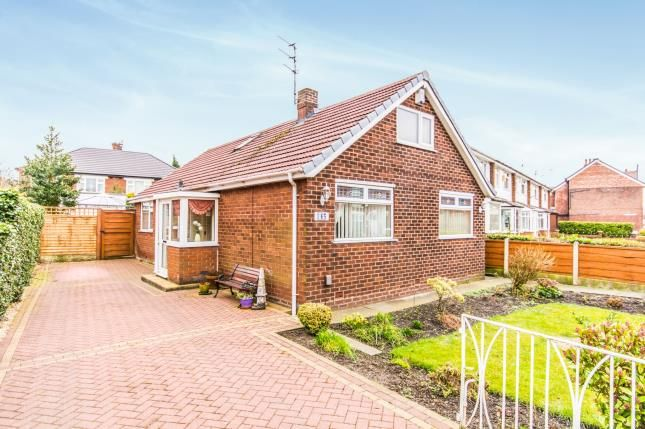 Thumbnail Bungalow for sale in Stockport Road, Denton, Manchester, Greater Manchester