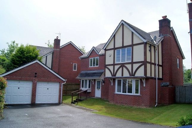 Thumbnail Detached house to rent in New Court, Broadlands, Bridgend.