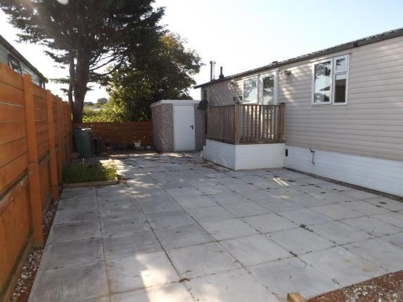 Patio/Driveway of The Pastures, Oxcliffe New Farm Caravan Park, Oxcliffe Road, Heaton With Oxcliffe LA3