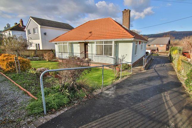 Thumbnail Detached bungalow for sale in Merthyr Road, Govilon, Abergavenny