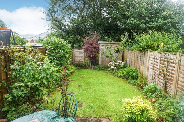 Garden of Hathaway Drive, Macclesfield SK11