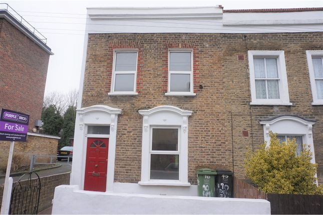 Thumbnail End terrace house for sale in Dennetts Road, New Cross