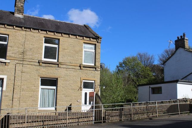 Thumbnail End terrace house to rent in Huddersfield Road, Brighouse