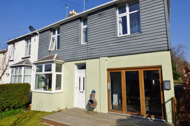End terrace house for sale in Hartop Road, Torquay