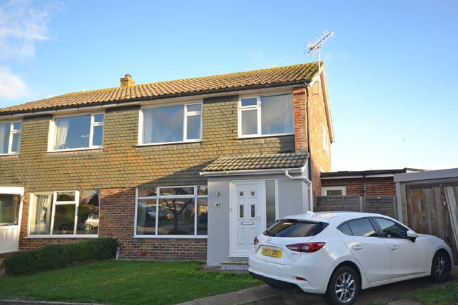 Thumbnail Semi-detached house for sale in Wellington Gardens, Selsey