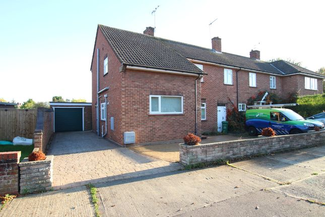 Thumbnail End terrace house for sale in Eldred Avenue, Colchester, Essex