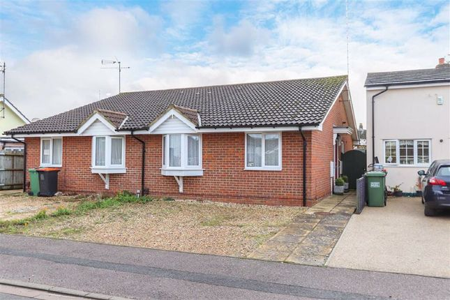 Thumbnail Semi-detached bungalow for sale in Digby Road, Leighton Buzzard