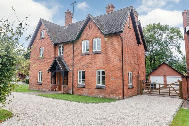 Thumbnail Detached house for sale in The Woodlands, Stone, Staffordshire