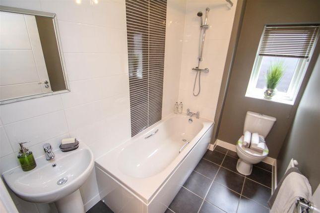 Family Bathroom of The Jasmine, Off Eaves Lane, Bucknall, Stoke-On-Trent ST2