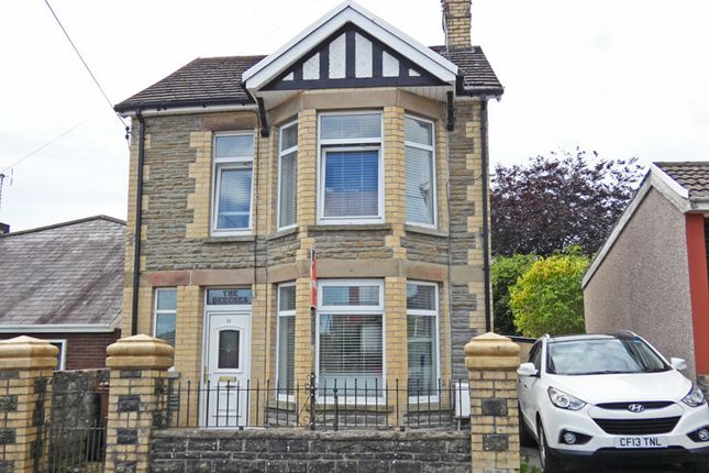Thumbnail Detached house for sale in Hospital Road, Penpedairheol, Hengoed