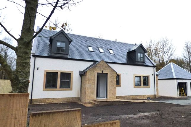 Thumbnail Detached house for sale in Peebles Road, Penicuik