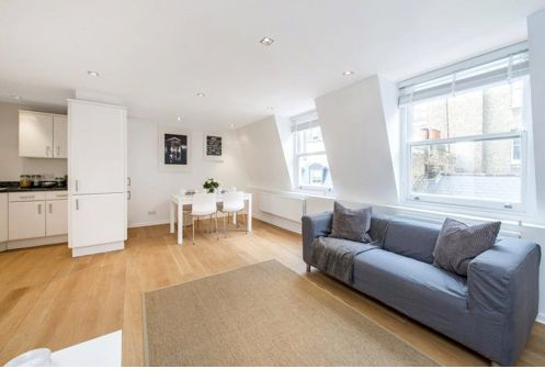 Thumbnail Duplex to rent in Bingham Place, Marylebone