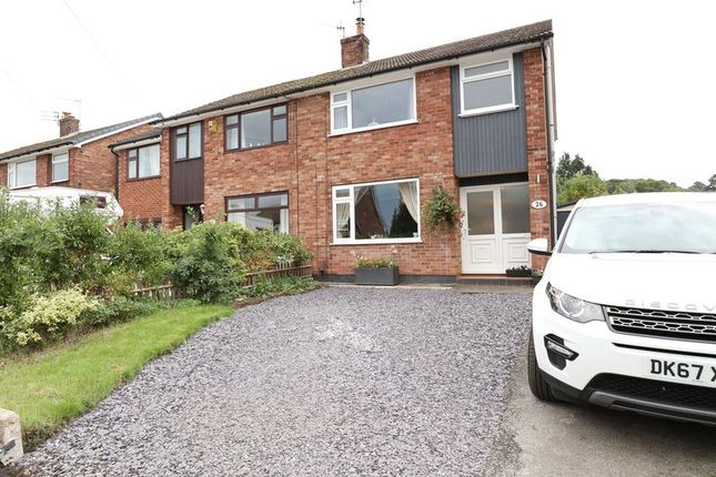 Thumbnail Semi-detached house for sale in Pine Road, Macclesfield