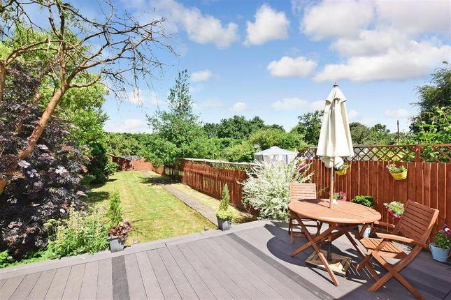 Rear Garden of Oliver Crescent, Farningham, Kent DA4