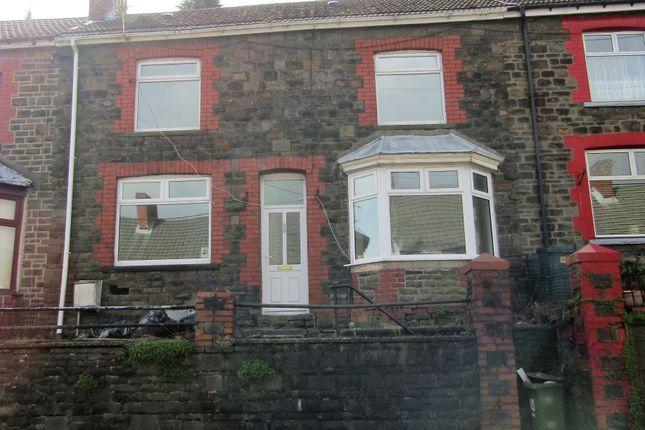 Thumbnail Terraced house to rent in Pentwyn Avenue, Mountain Ash