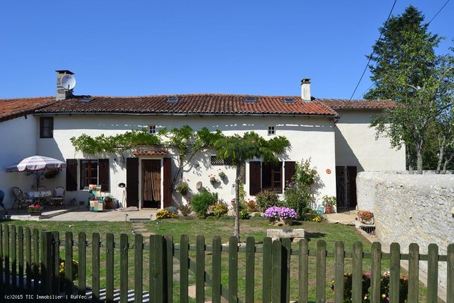3 bed property for sale in Champagne-Mouton, Poitou-Charentes, 16350, France