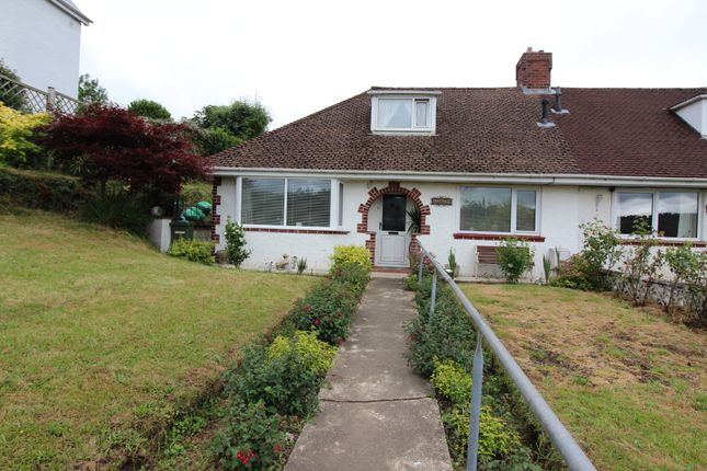 Thumbnail Semi-detached bungalow for sale in Gilboa Road, Newbridge, Newport