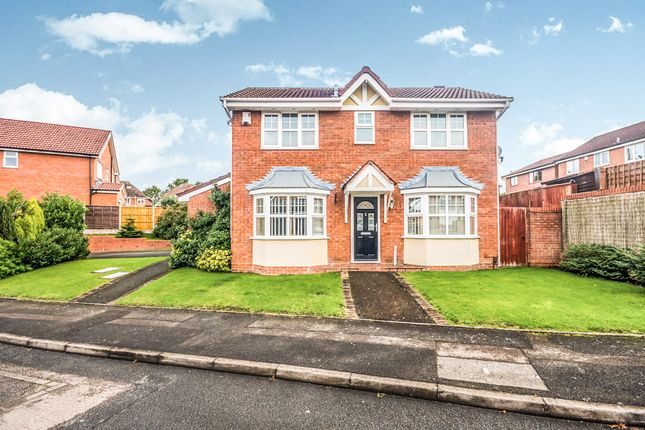 Thumbnail Detached house for sale in Marlpool Drive, Pelsall, Walsall