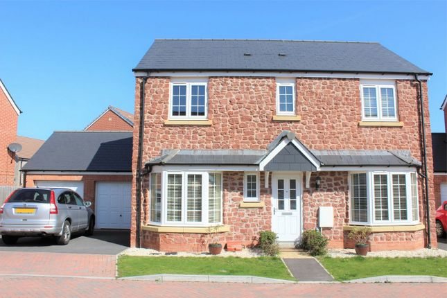 Thumbnail Detached house to rent in Saffin Drive, Bathpool, Taunton