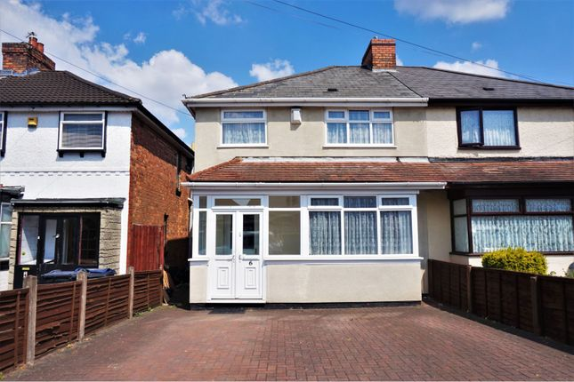 Thumbnail Semi-detached house for sale in Redthorn Grove, Birmingham