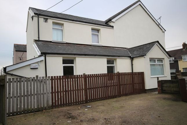 Thumbnail Flat for sale in Station Road, Pontnewydd, Cwmbran