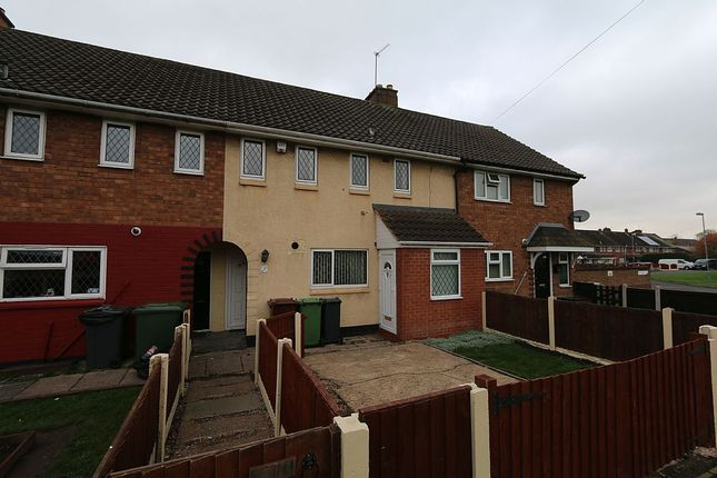 Thumbnail Terraced house for sale in Lister Close, Walsall, West Midlands