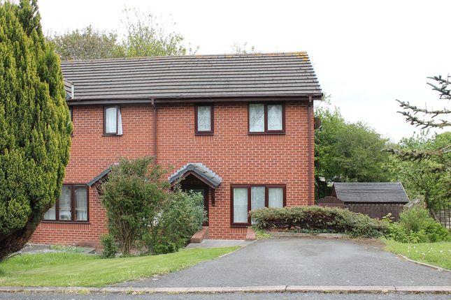 Thumbnail Semi-detached house to rent in 25 Penrheidol, Penparcau, Aberystwyth