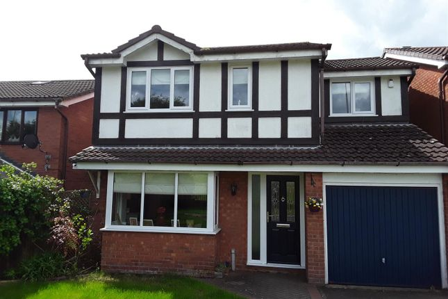 Thumbnail Detached house for sale in Rothesay Grove, Ketley Bank, Telford