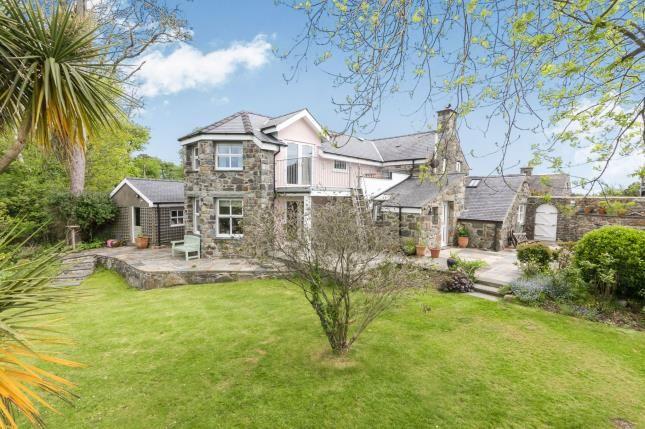 4 bed detached house for sale in Muriau, Criccieth, Gwynedd