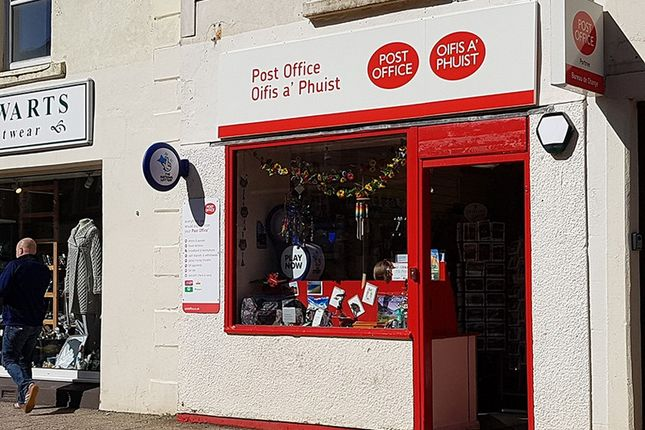 Thumbnail Retail premises for sale in Portree Post Office, 4 Wentworth Street, Portree, Isle Of Skye