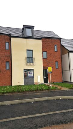 Thumbnail Town house to rent in Mckay Avenue, Leicester