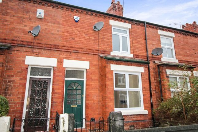 3 bed terraced house to rent in Faulkner Street, Hoole, Chester CH2