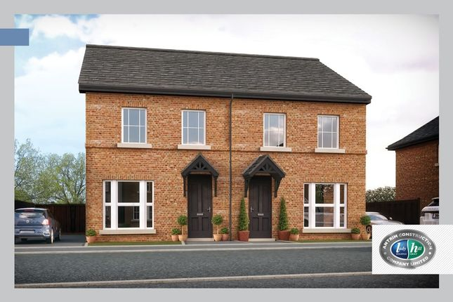 Thumbnail Semi-detached house for sale in Porter Green, Ballyhampton Road, Larne