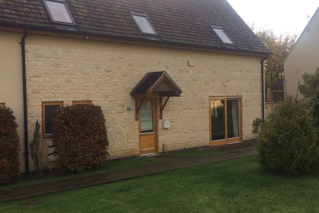 Thumbnail Semi-detached house to rent in 3Bed, Oaksey Park, Oaksey, Wiltshire