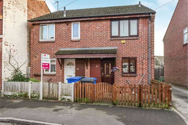 Thumbnail Semi-detached house for sale in Stockbrook Road, Derby