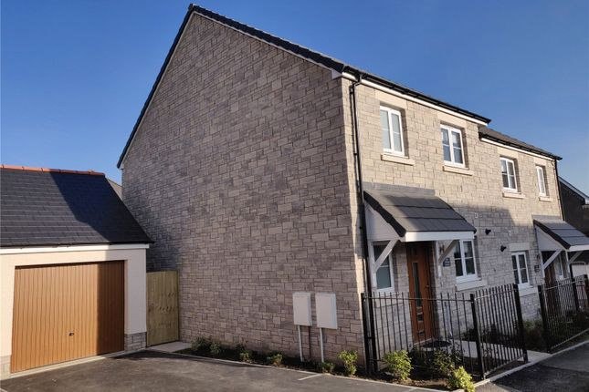 Thumbnail Semi-detached house for sale in Trispen Meadows, Trispen, Truro