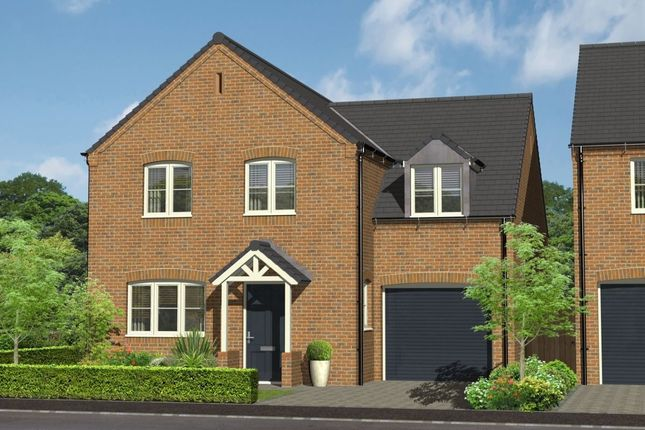 Thumbnail Detached house for sale in - Church View Repton Road, Willington, Derby