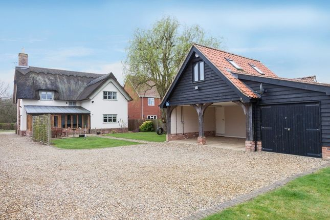 Thumbnail Detached house for sale in Shop Street, Whinburgh, Dereham