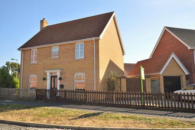 Thumbnail Detached house for sale in Grantham Avenue, Great Cornard, Sudbury