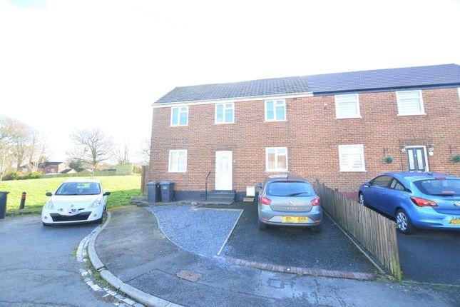Thumbnail Semi-detached house for sale in Eastside Avenue, Bearpark, Durham