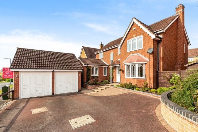 Thumbnail Detached house for sale in Pennine Way, Gonerby Hill Foot