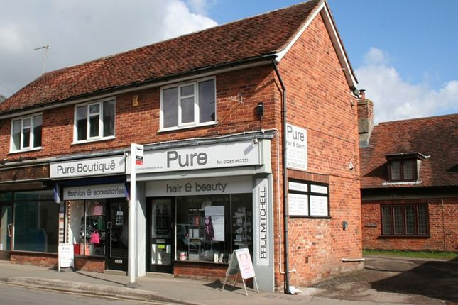 Thumbnail Retail premises for sale in High Street, Thorpe-Le-Soken, Clacton-On-Sea