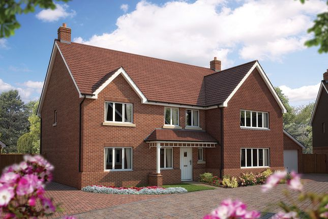 "Thumbnail Detached house for sale in ""The Exeter"" at Bridge Road, Bursledon, Southampton"