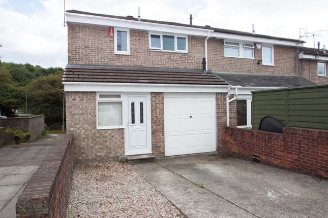 Thumbnail End terrace house for sale in Langdale Close, Leigham, Plymouth