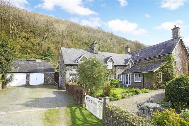 Thumbnail Detached house for sale in Bronclydwr, Rhoslefain, Tywyn, Gwynydd
