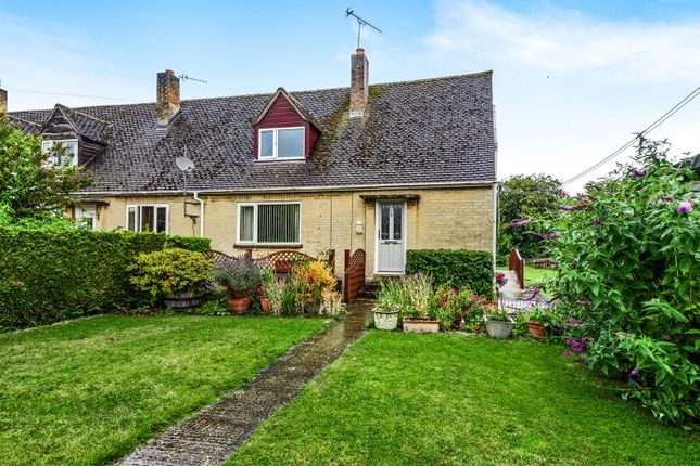 Thumbnail Semi-detached bungalow for sale in Gassons Mead Alvescot, Bampton, Oxfordshire